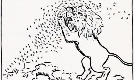 El león y los mosquitos