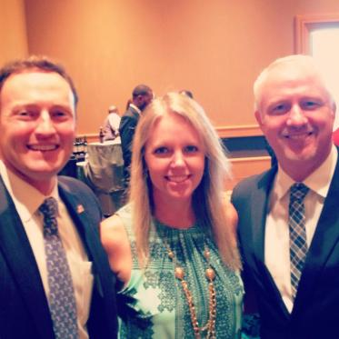 Commissioner McKinlay with Congresman Murphy and State Senator Clemens (via Campaign Facebook Page)