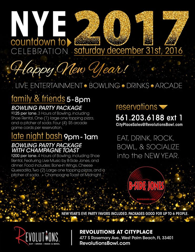 Clematis Street West Palm Beach New Years Eve