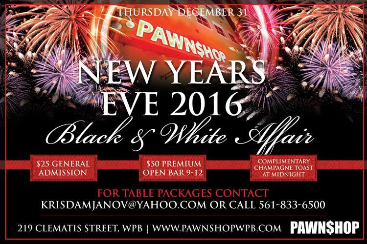 Pawn Shop West Palm Beach New Years Eve