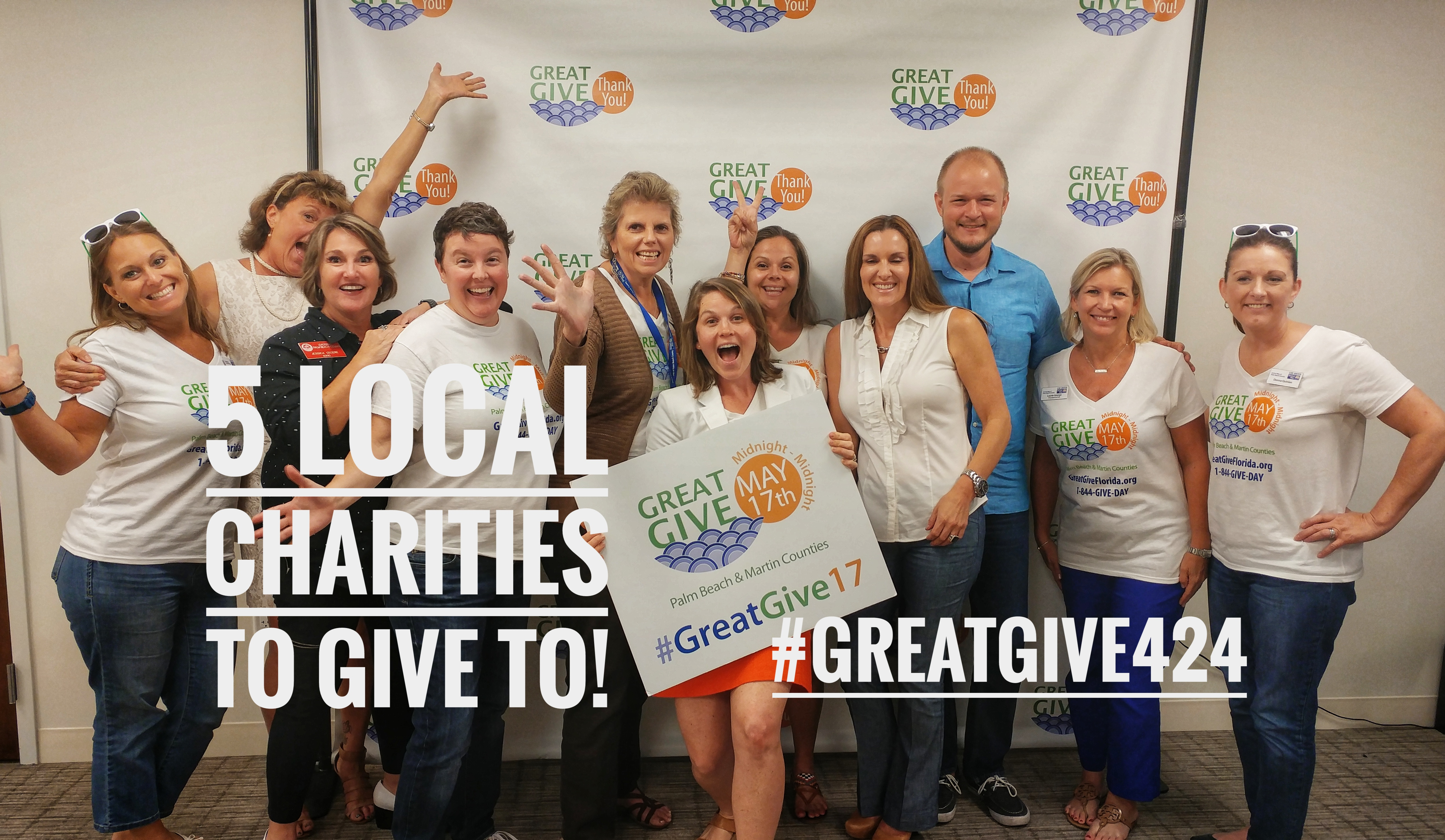 5 Local Charities To Help During The Great Give Today