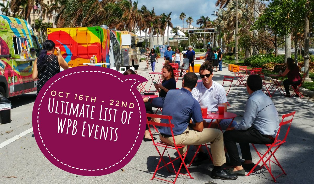 Ultimate list of West Palm Beach events - week of October 16th - 22nd