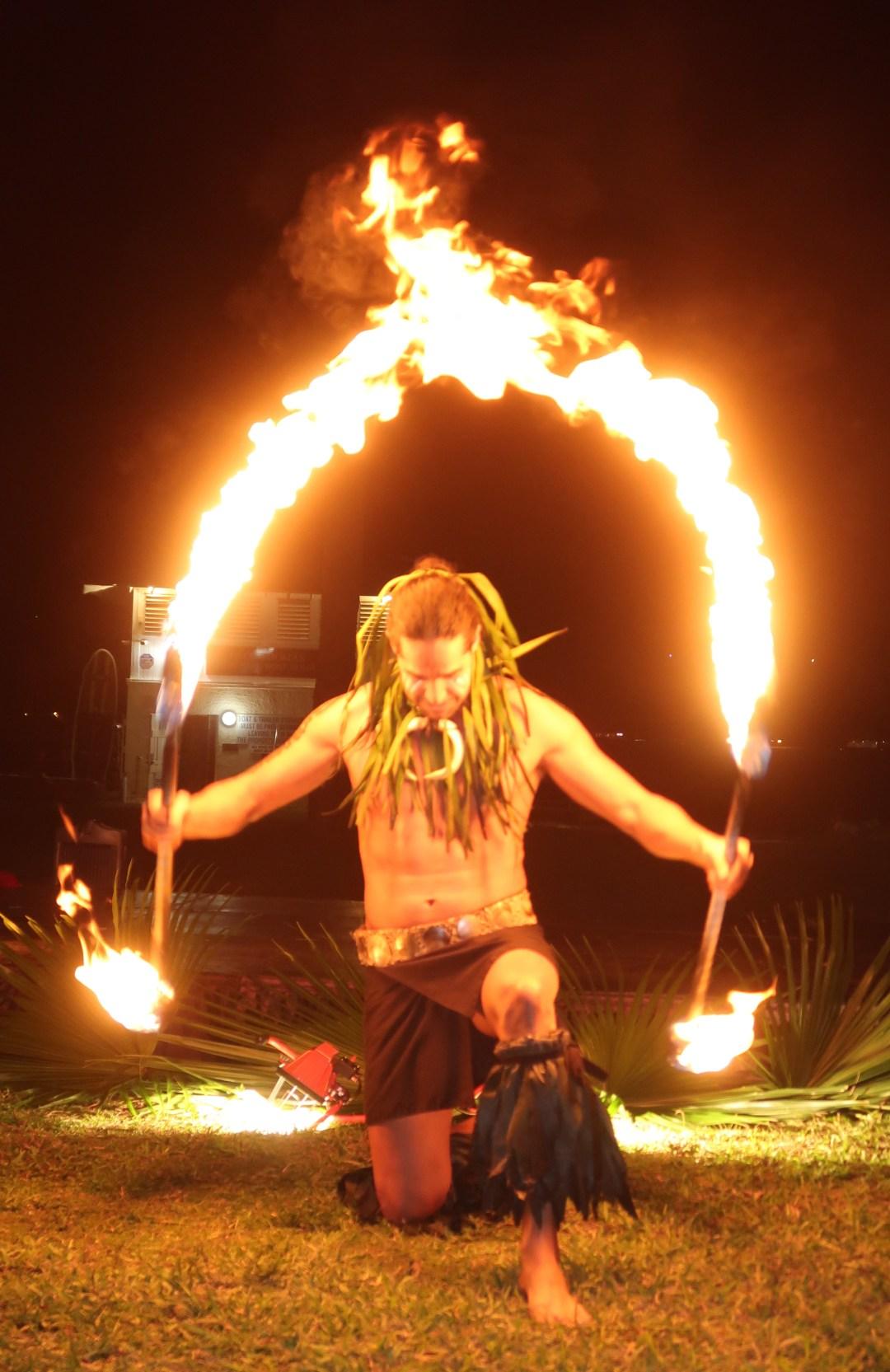 Fire Dancing- Photo by Aaron Wormus
