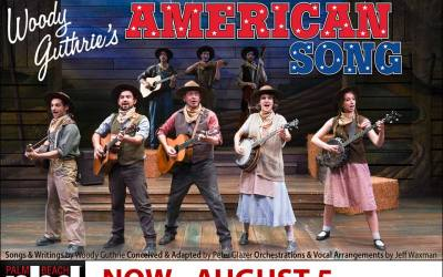 """Dramaworks production of """"Woody Guthrie's American Song"""" brings rave reviews"""