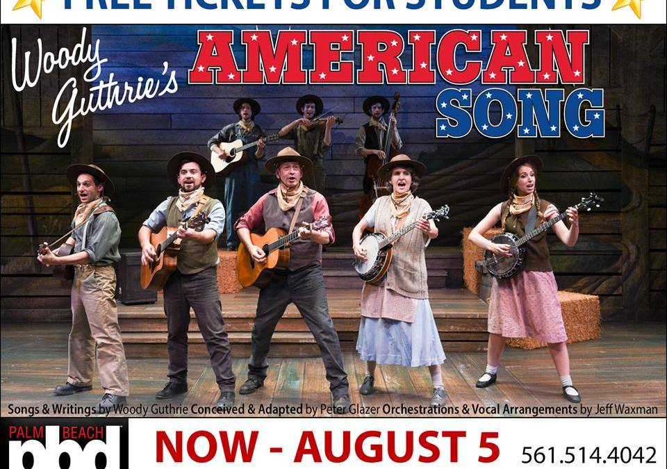"Dramaworks production of ""Woody Guthrie's American Song"" brings rave reviews"