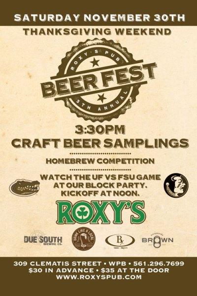 BeerFest-Roxys