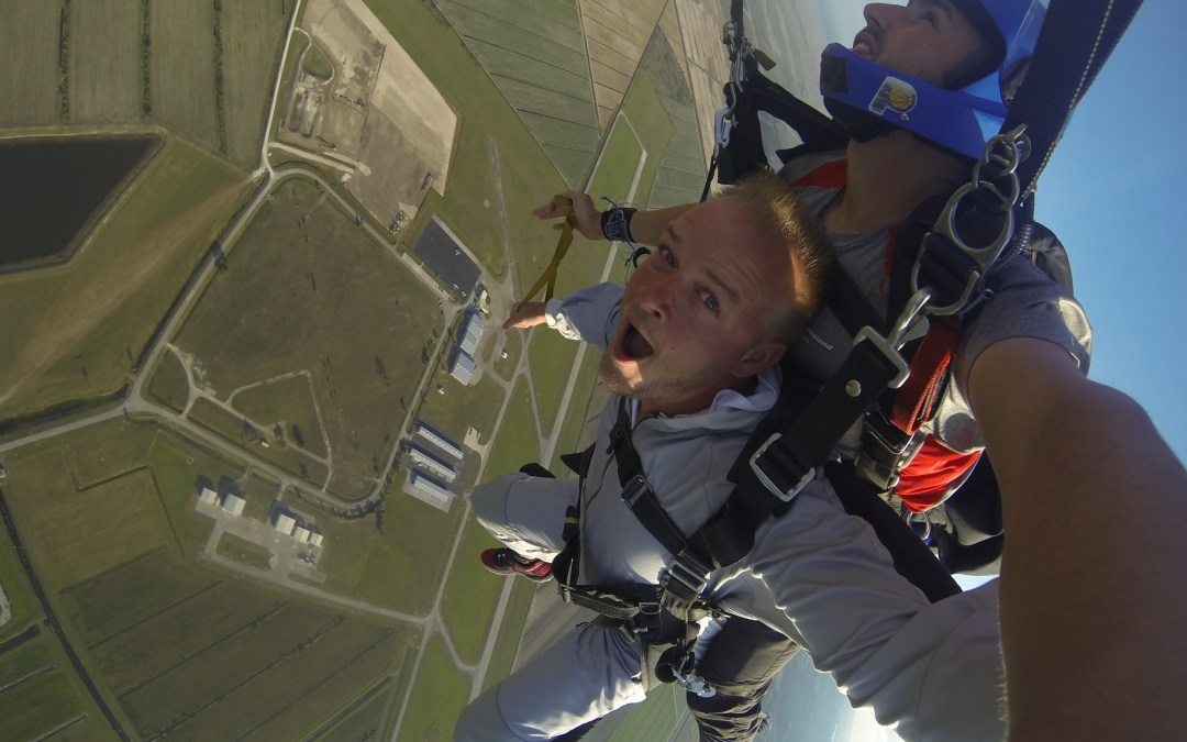 I jumped out of a perfectly good plane at Skydive Spaceland