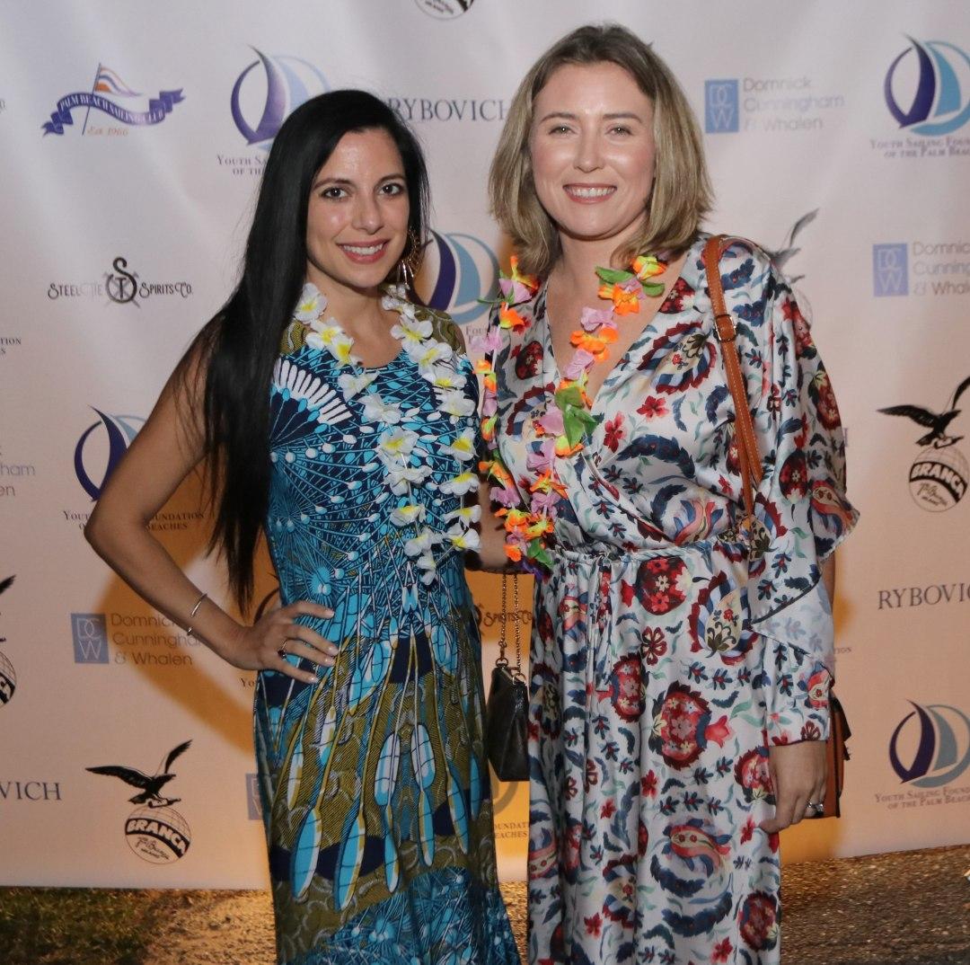 Adriana Gonzalez and Nicole Kruegel - Photo by Mike Jachles