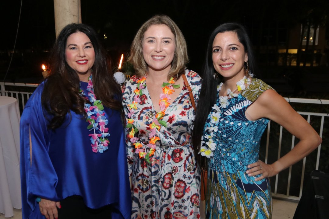 Robin Noyes, Nicole Kruegel and Adriana Gonzalez - Photo by Mike Jachles