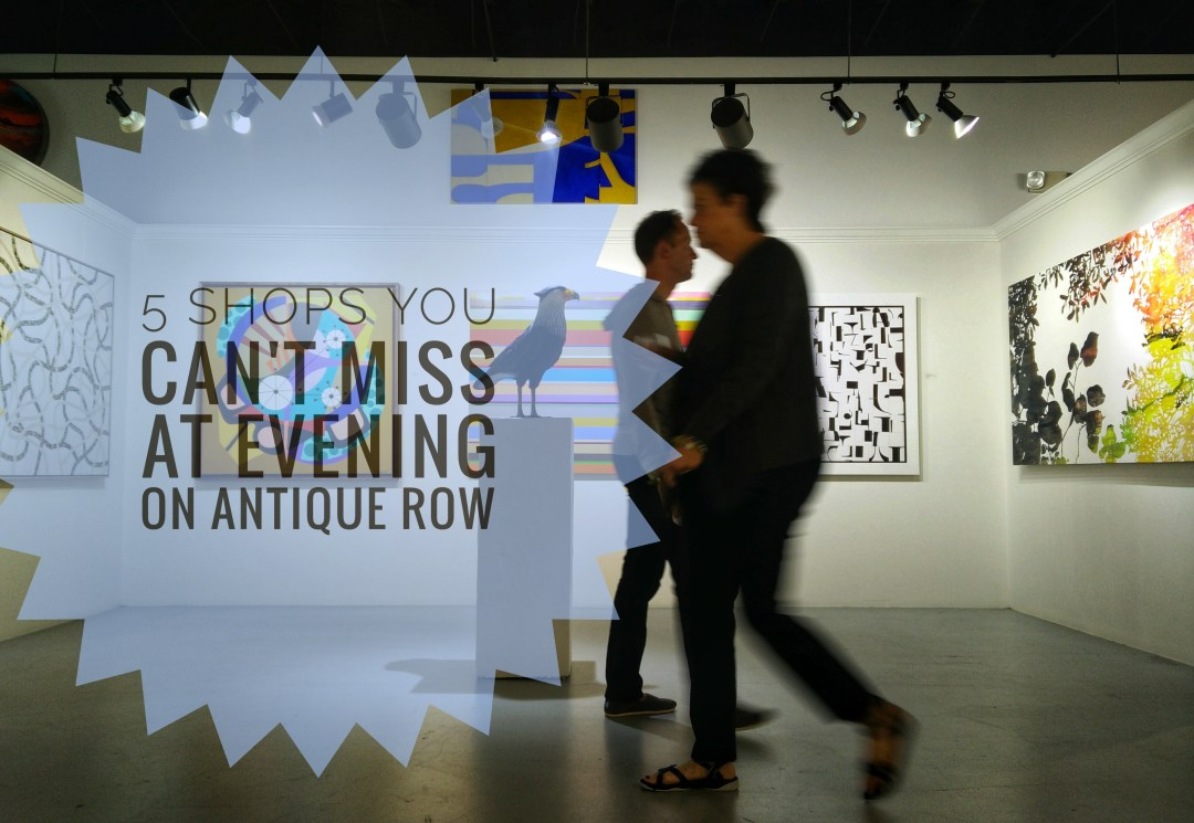 5 Shops you can\'t miss at Evening on Antique Row - @aGuyOnClematis
