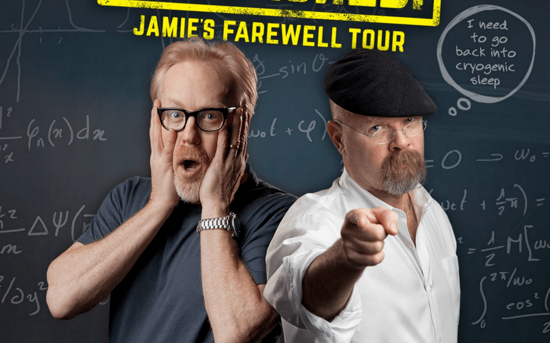 MythBusters Jamie & Adam Unleashed will be at the Kravis Center on Saturday