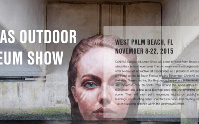 CANVAS Outdoor Museum Show coming to West Palm Beach
