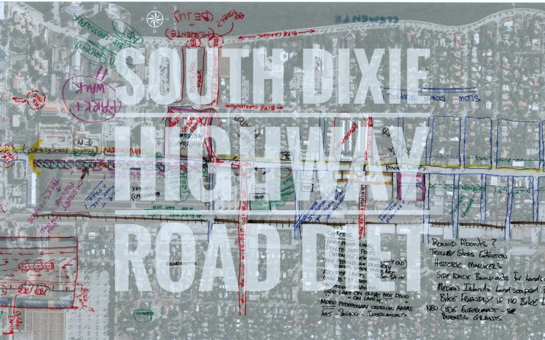 History of South Dixie HWY Road Diet Project