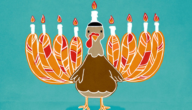 Happy Thanksgivukkah – I'm thankful for all our small businesses.