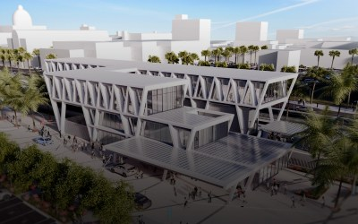All Aboard Florida's West Palm Beach station revealed