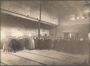 Scholastika Großer Saal 1914