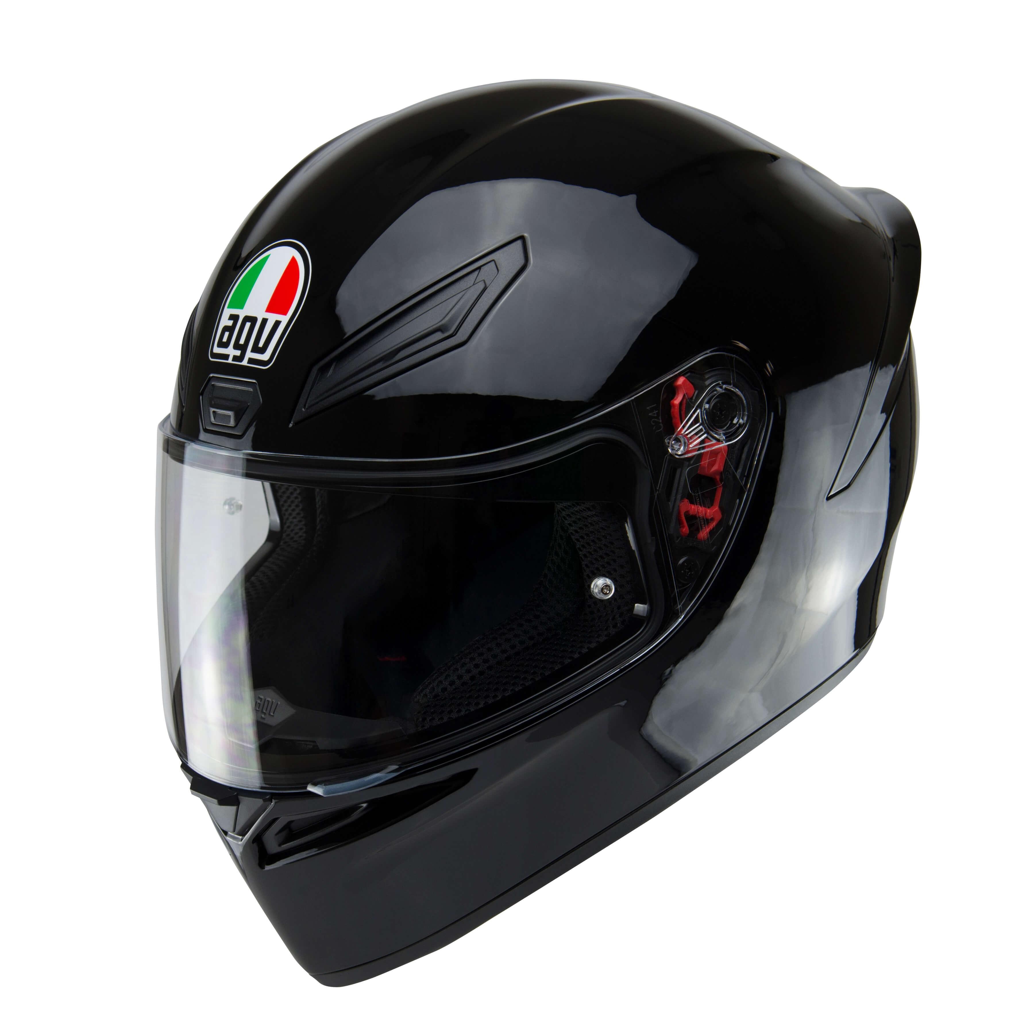 Agv K1 Black Full Face Motorcycle Helmet