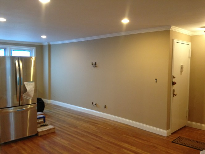Living Room After Ag Williams Painting
