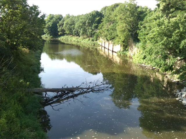6-Schönebeck-Blick Von Salinebrücke Nach Südosten Auf Salinekanal (1)