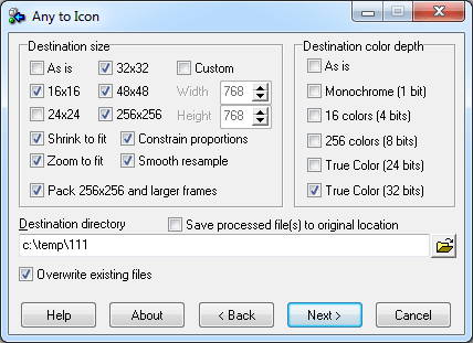Any to Icon 3.32 download