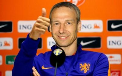 Jürgen Klinsmann trainer van Nederlands elftal? Goed voor Duits-Nederlandse handel