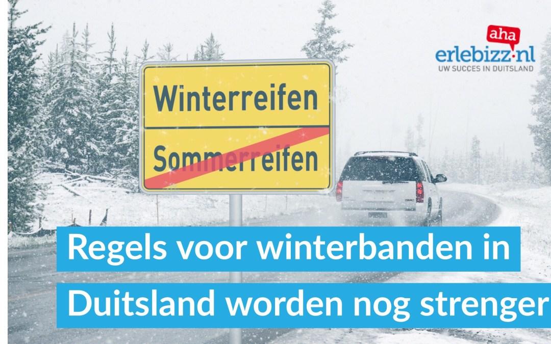 Winterbanden in Duitsland verplicht. Regels worden 1 januari 2018 nog strenger