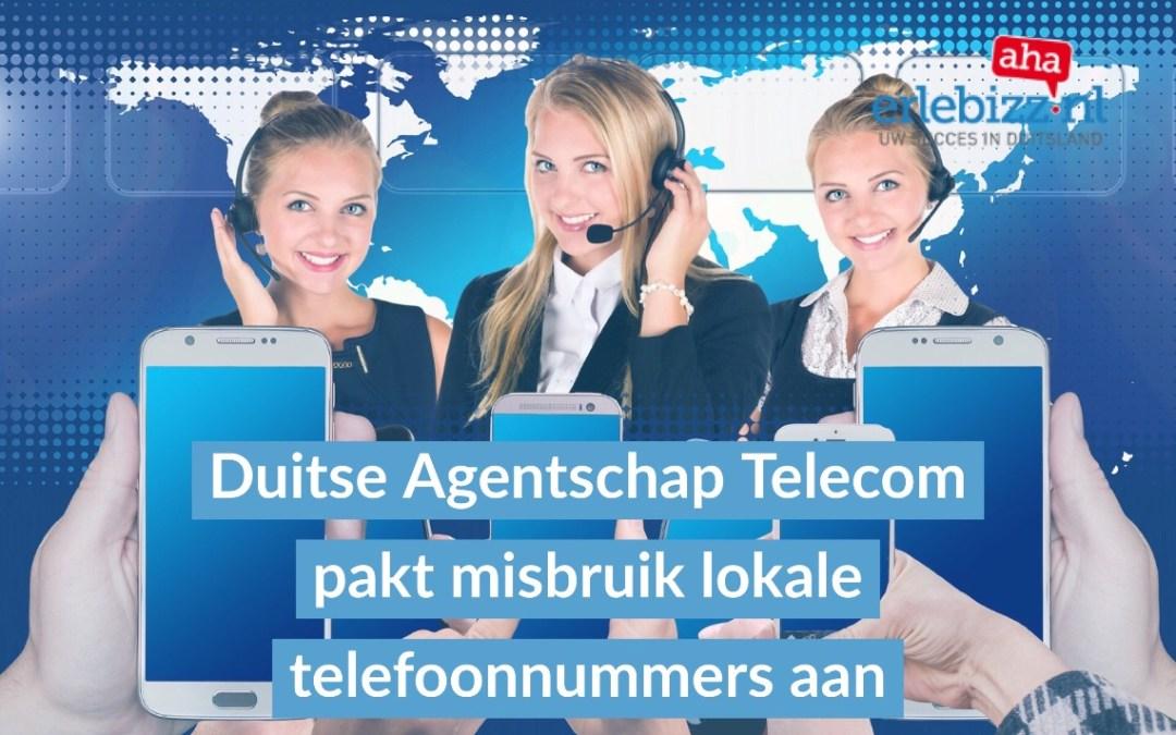 Duitse Agentschap Telecom laat duizenden lokale telefoonnummers van bedrijven deactiveren