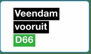logo D66 Veendam