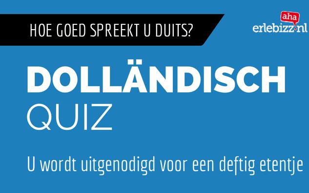 Antwoord Dolländisch Quiz
