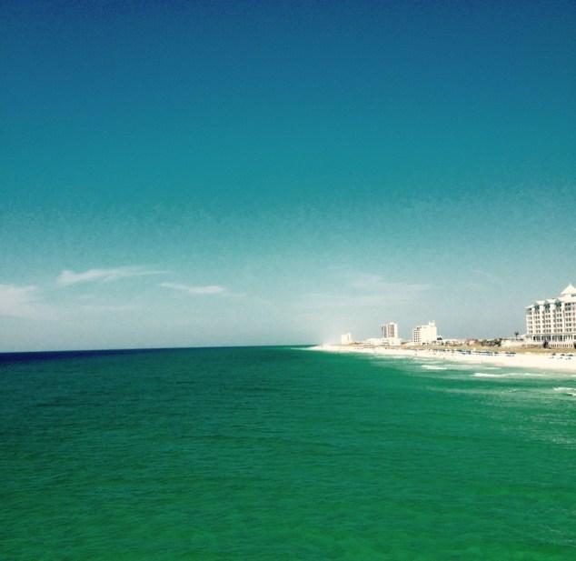 The Beautiful Gulf Coast, Pensacola Beach.