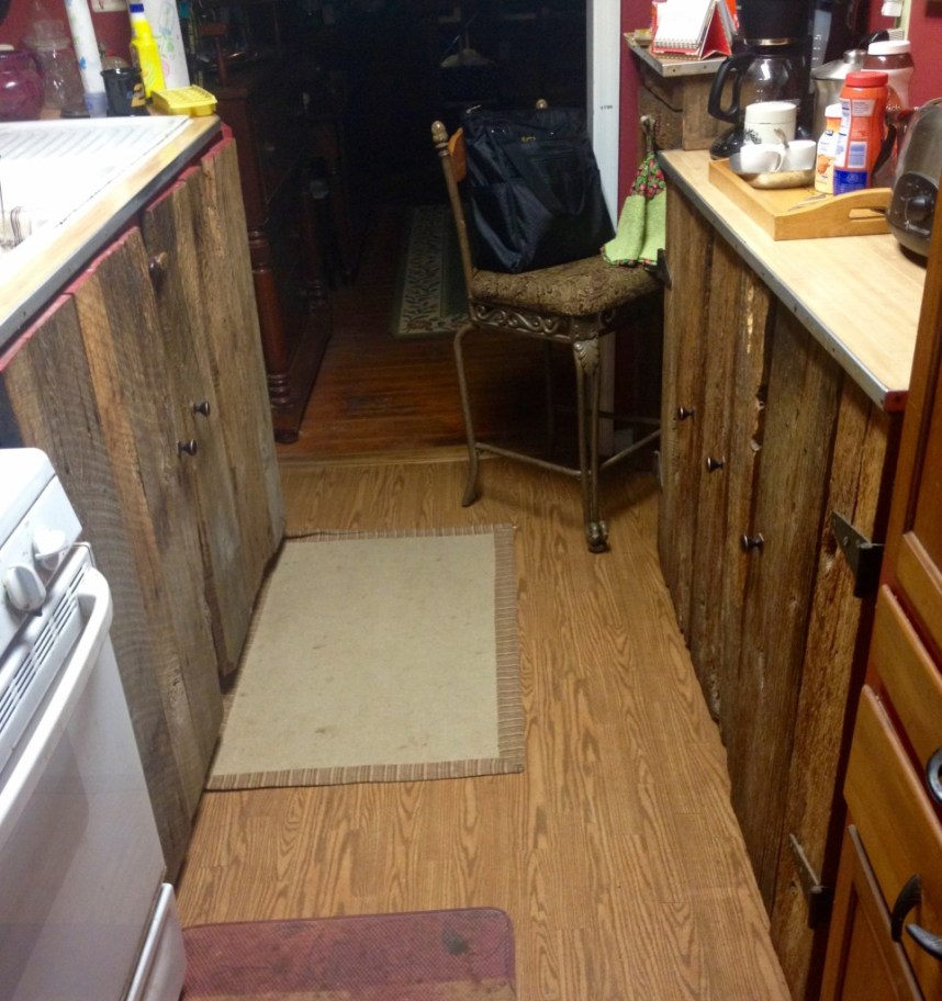 creating space in a tiny kitchen