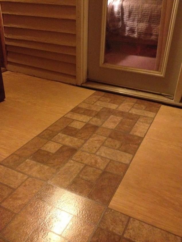 halfway completed floor