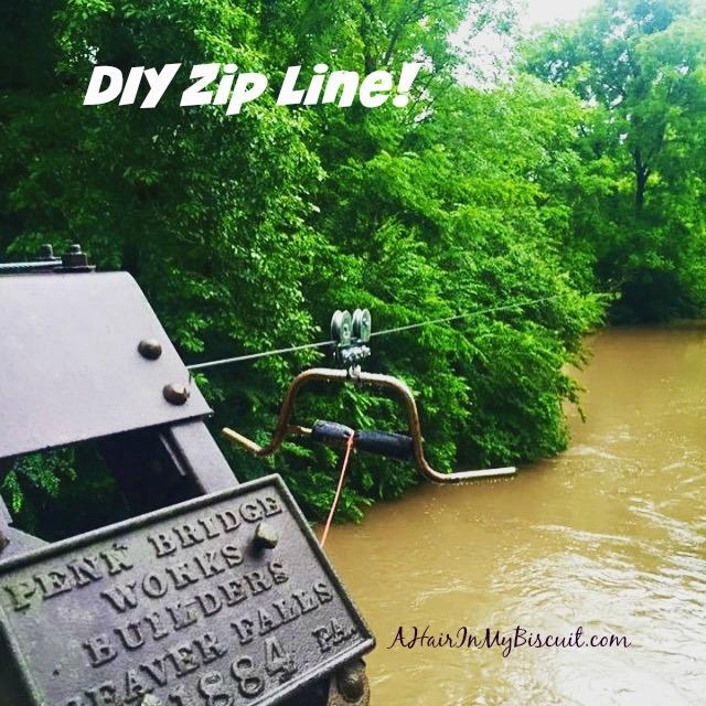 DIY Zip Line