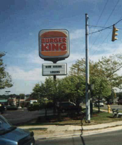 Burger King is hiring