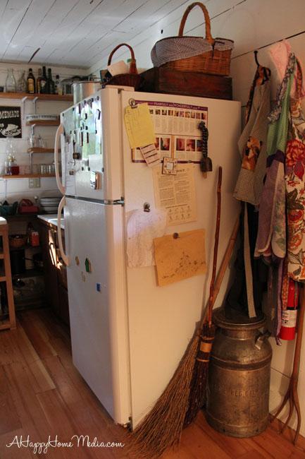 downsized kitchen