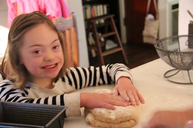 making slow bread