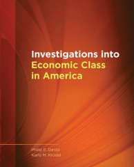Investigations into Economic Class in America set