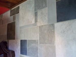 Patchwork Style Tile Floor
