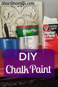 How To Make Chalk Paint | DIY Chalk Paint