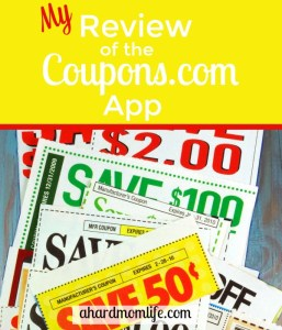 My Review of the Coupons.com App
