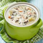 Fall is the perfect time for warm soups. Finding a recipe that's easy to prepare makes this chicken and wild rice soup a perfect weeknight dinner.