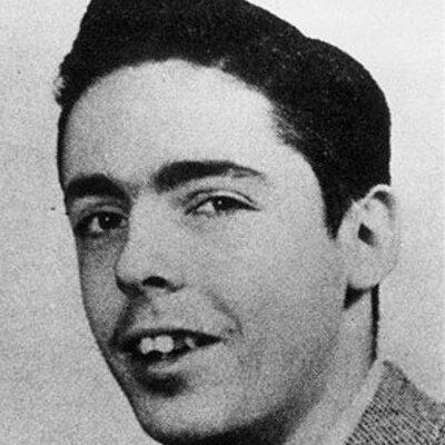 Retrato, presunto, en baleno y negro de un joven Thomas Pynchon.