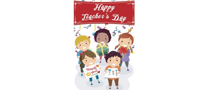 Celebrate Teachers Day on 5th September