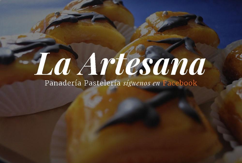 Diseño de página web «OnePage» para la empresa «Pastelería Panadería La Artesana»