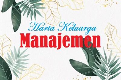 manajemen-harta-keluarga