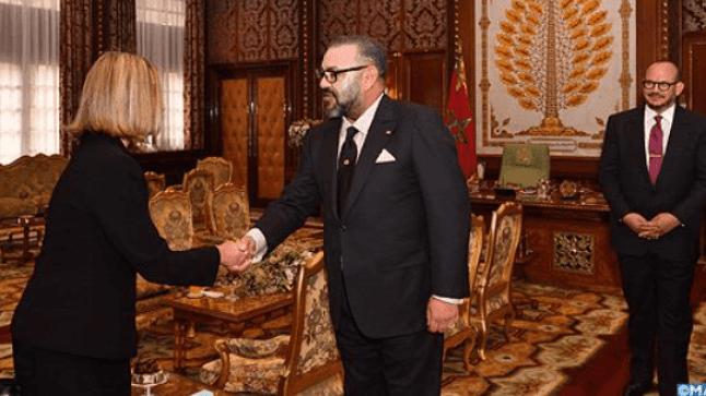 الملك محمد السادس يستقبل فيديريكا موغيريني