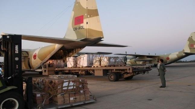 """بتعليمات ملكية سامية، إرسال مساعدة انسانية عاجلة إلى ضحايا اعصار """"إيداي"""" بالموزمبيق"""