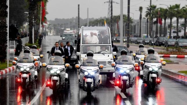 قداسة البابا فرانسيس يؤكد أن زيارته للمغرب تشكل فرصة هامة لتعزيز الحوار بين الأديان
