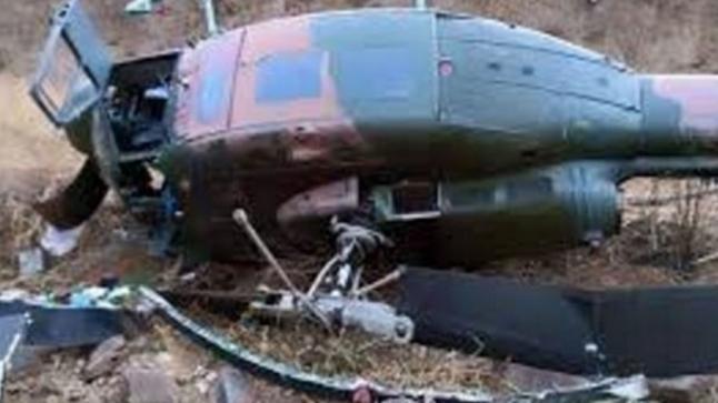 تفاصيل سقوط مروحية تابعة للقوات الملكية الجوية ضواحي الداخلة.. ووفاة فردين من طاقمها