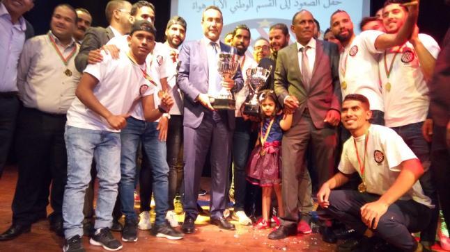 بحضور الخطاط ينجا .. نادي نجوم أوسرد يحتفل بتأهله إلى القسم الوطني أول هواة